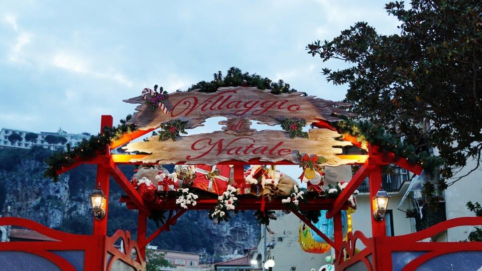 Villaggio di Babbo Natale a Sorrento
