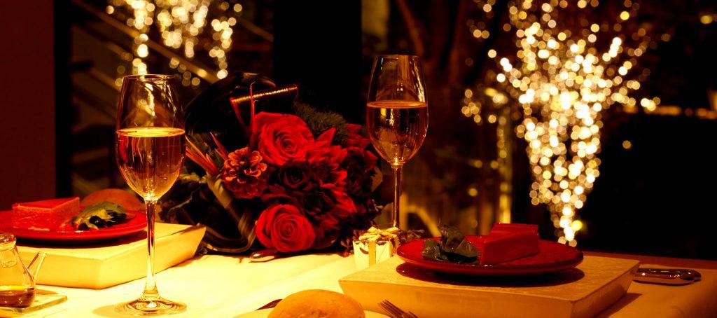 Cena romantica a Sorrento
