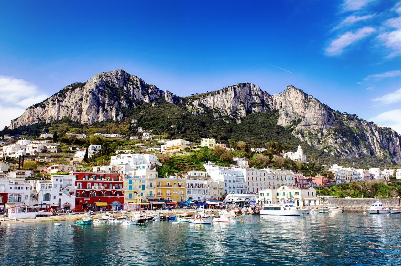 Capri from Sorrento